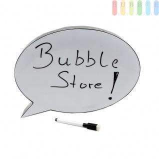 Sprechblasen-Leuchtschild von Grundig A4, 10 LEDs, ein abwischbarer Marker, ca. 30 x 21 x 4, 5 cm, Indoor