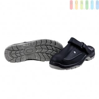 Clogs Sicherheits-Sandale von ALL Ride, Sicherheitsschuh mit Klettverschluss, schwarz/grau, Größe 43 - Vorschau 3