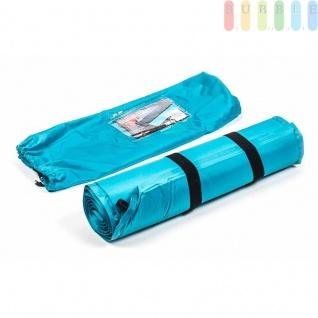 Isomatte von Camp Akive selbstaufblasend, bequem, praktisch, Gewichtca.940g, Farbe Blau