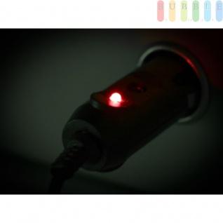 Neon LED-Weihnachtsbaum von ALL Ride, mit Ständer, doppelseitigem Klebepad, für LKW, PKW, Wohnmobil, Kabel mit Stecker für Zigarettenanzünderbuchse, 12-24 Volt, Höhe ca. 29, 5 cm - Vorschau 5