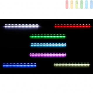 LKW LED Innenleuchte von ALL Ride , flache Bauweise, 24 SMD-LEDs, 7Farben, geschaltet, Länge50cm, 12-24V