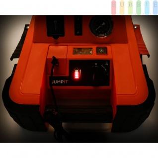 Starthilfegerät Jump It BDJS4501 450AMP von Black & Decker für 12 V Batterien plus 120 PSI-Kompressor, Netzladeadapter, LED-Licht + Anzeige - Vorschau 4