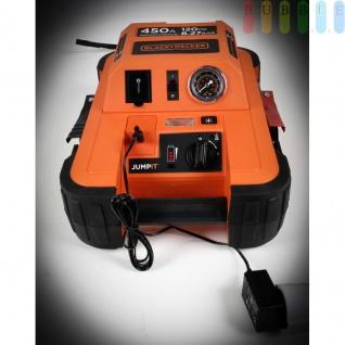 Starthilfegerät Jump It BDJS4501 450AMP von Black & Decker für 12 V Batterien plus 120 PSI-Kompressor, Netzladeadapter, LED-Licht + Anzeige - Vorschau 3