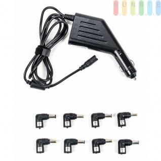 KFZ-Laptop-Ladegerät ALL Ride für Zigarettenanzünder mit 8 Adaptern, 12V, 90W, schwarz