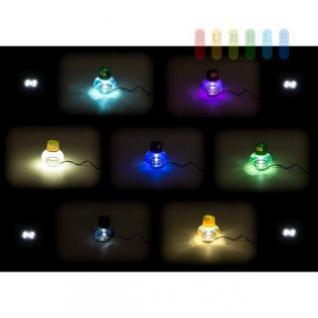 Lufterfrischer Poppy mit LED Beleuchtung von ALL Ride 24V in rot oder weiß, Inhalt 150 ml, lieferbar in 7 Duftnoten