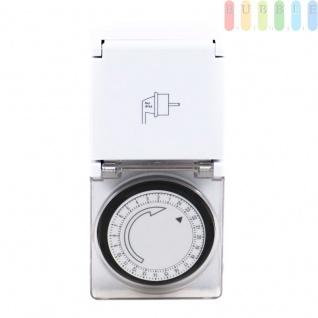 Mechanische Zeitschaltuhr von Grundig, 15 Min.-24 Std.-Einteilung, Outoor-Version, 220-240 V, 3500 W