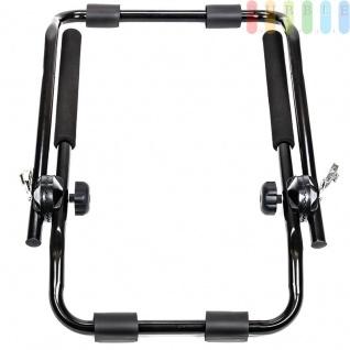 Heckklappen-Fahrradträger für alle Fahrzeugtypen, flexibel, platzsparend, TÜV-frei, Nutzlast max. 30 kg für 2 Fahrräder - Vorschau 5