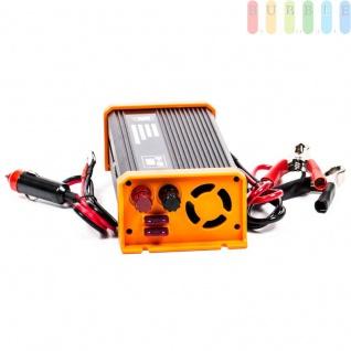Spannungswandler / Inverter ALL Ride Zigarettenanzünder- und Batterie-Anschluss, Schuko-Steckdose, USB-Buchse, 12V/DCauf230V/AC, 500W - Vorschau 2