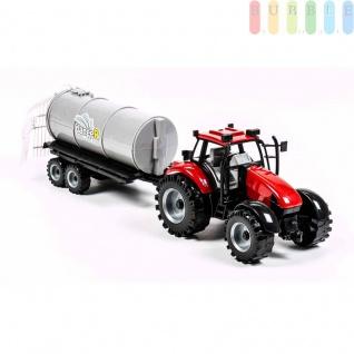 Traktorgespann von Gearbox mit Rückzugmotor, 2-teilig, Längeca.42cm, Traktor mit Gülleverteiler