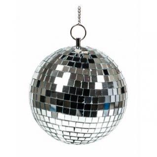 Disco-Spiegel-Kugel von PartyFunLights, Aufhängung inklusive, Lichteffekte, Durchmesser 15 cm