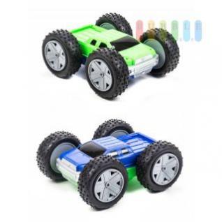Spielzeugauto/ Überschlagauto von EDDY TOYs, Überschag am Hindernis, Batteriebetrieb, wendig, spannend, Länge ca. 21 cm