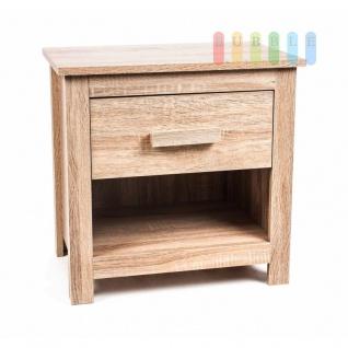 Mini-/Nacht-Kommode von Homestyle, 1 Schublade, 1 fach, Design schlicht/modern, Höhe ca. 50 cm