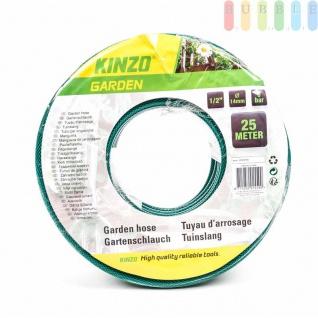 """Gartenschlauch von Kinzo Garden 3-lagig, Stärke1/2"""" (?14mm), max.6bar, Länge 25 Meter"""