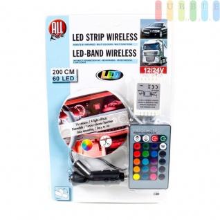 LED-Deko-Band ALL Ride außen mit Infrarot-Fernbedienung, mehrfarbig, multifunktional, 12/24V, 60LEDs, 200cm