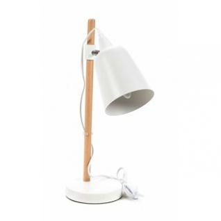 Schreibtischlampe von Grundig, Holz-Metall-Materialmix, Design skandinavisch, Neigung und Höhe verstellbar, E14/25W/9W max.