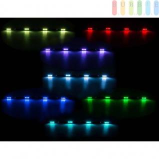 LKW LED Innenleuchte ALL Ride, flache Bauweise, 4x3 SMD-LED, 7Farben, geschaltet, Länge70cm, 10-30V
