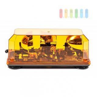Doppel-Warnleuchte von ALL Ride, magnetisch, E13 Freigabe, 2 Drehspiegellampen, 3 m Spiralkabel, 24V