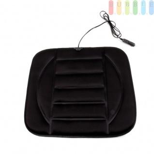 Auto Heizkissen von ALL Ride, mit Übertemperaturschutz, Füllung fest, schwarz, 12 V, universelle Größe, ca. 43 x 50 cm