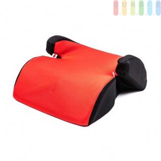 Kindersitzerhöhung ALL Ride Techno entspricht EU-Norm ECE 44/04 2928 (E20), von 15 bis 36 kg, Farbe Rot
