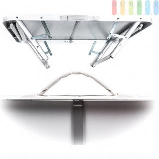 Camping-/Klapptisch aus Aluminium, leicht, robuste Tischplatte, 3, 5 cm Packhöhe, 2, 7 kg - Vorschau 4