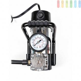 Druckluftkompressor ALL Ride Chrom, inkl.3Adapter, 285cmKabel, 12V / 12A, max. 7 bar - Vorschau 4