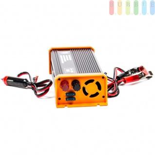 Spannungswandler / Inverter ALL Ride Zigarettenanzünder- und Batterie-Anschluss, Schuko-Steckdose, USB-Buchse, 24V/DCauf230V/AC, 500W - Vorschau 2