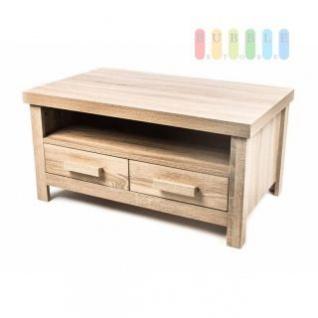 TV-Schrank von Homestyle, 2 Schubladen, 1 Fach, modernes Design, Höhe ca. 40 cm