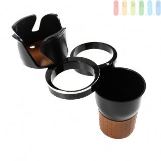 """Mehrzweckbecher """" Auto-Multi Cup Case"""", 5 Funktionen, Becherhalter, Brillen-, Stift und Handyhalter je 360° Rotation, Kleinteilefach, Größeca.19x 6, 7 cm"""