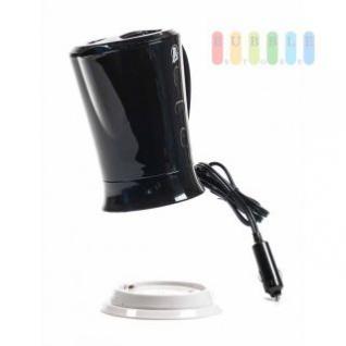 Wasserkocher von ALL Ride mit Halter, ohne Heizspirale, Volumen 0, 2 bis 0, 6 Liter, schwarz, 12V/150W