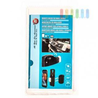 Magnethalter für Mobilgeräte von ALL Ride, Oberflächenmontage, Hitzeresistent, selbstklebend, 360° drehbar, 3-teilig
