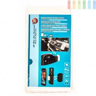 Magnethalter für Mobilgeräte von ALL Ride, Oberflächenmontage, Hitzeresistent, selbstklebend, 360°drehbar, 3-teilig - Vorschau 1