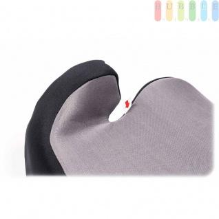 Kindersitzerhöhung ALL Ride Techno entspricht EU-Norm ECE 44/04 2928 (E20), von 15 bis 36 kg, Farbe Grau - Vorschau 5