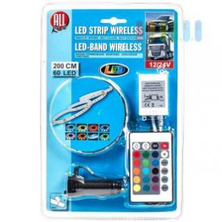 LED-Deko-Band ALL Ride außen mit Infrarot-Fernbedienung, mehrfarbig, multifunktional, 12/24V, 60 LEDs, 200cm