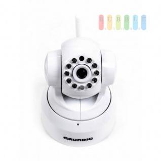 WIFI IP-Kamera Grundig für Wlan Plug & Play, HD, Smartphone/Tablett/PC-Steuerung, Nachtfunktion, inklusive MicroSD-Karte - Vorschau 2