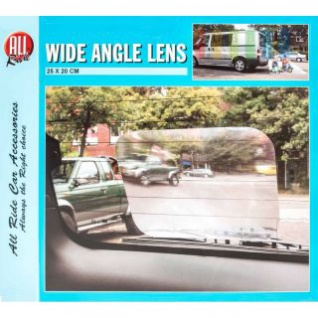 Weitwinkel-Linse von ALL Ride für Fahrzeuge, Kunststoff selbstklebend, wiederverwendbar, Größe ca. 25 x 20 cm