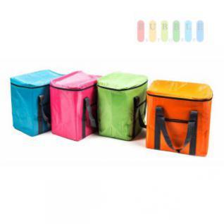 Kühltasche von Fresh& Cold im Soft-Design, Volumen 20 Liter, faltbar, handlich, Größe ca. 32 x 35 x 20 cm, lieferbar in den Farben Blau, Pink, Grün oder Orange
