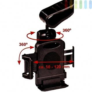 Handyhalter Grundig für die Sonnenblende, verstellbar von 50 bis 120 mm - Vorschau 4