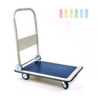 Plattform- oder Transportwagen von Kinzo, klappbarer Griff, gummierte Stellfläche, Traglast max. 150 kg