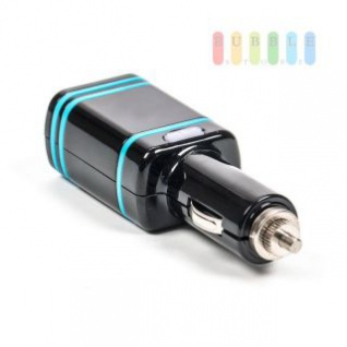 USB-Adapter/Ladegerät ALL Ride mit 2 USB-Buchsen, LED-Sicherung, Power-Chip, 12/24V, max. 24W, 5V/4, 8A