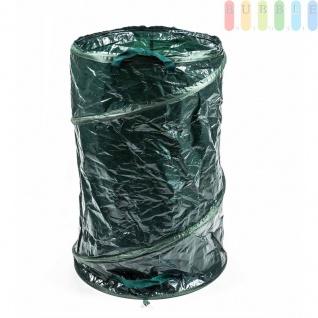 Gartensack von LifetimeGarden mit Griffen, Popup, Packmaß gering, frei stehend, selbst aufstellend, flexibel, praktisch Höheca. 75cm, Volumen 120 Liter