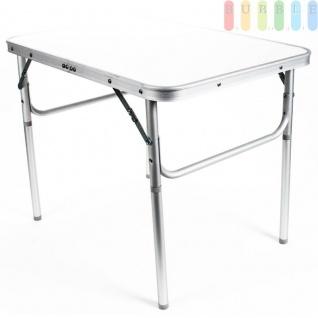 Camping-/Klapptisch aus Aluminium, leicht, robuste Tischplatte, 3, 5 cm Packhöhe, 2, 7 kg - Vorschau 1