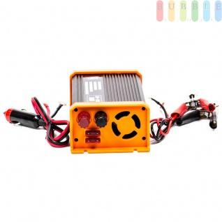 Spannungswandler / Inverter ALL Ride Zigarettenanzünder- und Batterie-Anschluss, Schuko-Steckdose, USB-Buchse, 24V/DCauf230V/AC, 300W - Vorschau 2