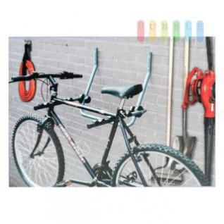 Wandhalter von Bicycle Gear für Fahrräder, klappbar, Belastung max. 30 kg, Größe ca. 57 x 53 x 62 cm