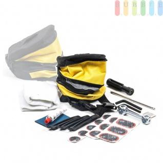 Fahrrad Reparatur Set von Bicycle Gear, Tasche, Reifenheber, Knochen, Flicken, Kleber, 24-teilig