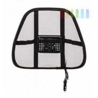 Lordosen-/Rückenstütze mit Ventilator für entspannte Körperhaltung, einfache Montage, 24V