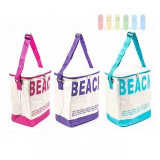 Kühltasche von Fresh& Cold im Soft-Design, Volumen 20 Liter, Größe ca. 37 x 30 x 21 cm, Farben Pink, Violett oder Blau