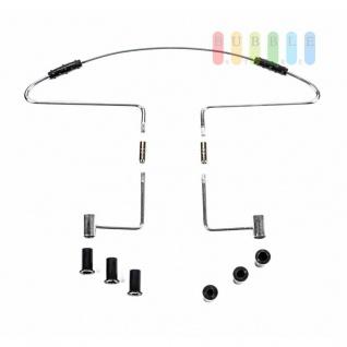 Kleiderbügel ALL Ride für die Kopfstütze, edles Design, Abrutschsicherung, Adapter, 42 x 22 x 7, 5 cm - Vorschau 4