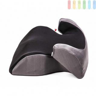 Kindersitzerhöhung ALL Ride Techno entspricht EU-Norm ECE 44/04 2928 (E20), von 15 bis 36 kg, Farbe Schwarz - Vorschau 5