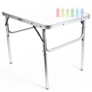Camping-/Klapptisch aus Aluminium, leicht, robuste Tischplatte, 3, 5 cm Packhöhe, 2, 7 kg