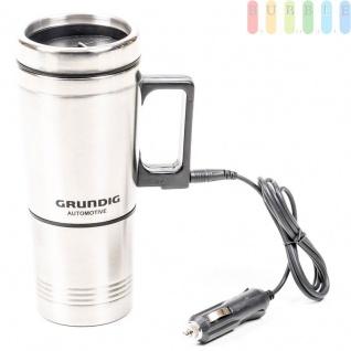 Elektrischer Kaffeebecher Grundig Edelstahl, 0, 5 L, 24V